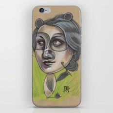 DAINTY PANDA iPhone & iPod Skin