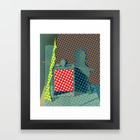 Pop Morandi Framed Art Print