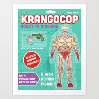 Krangocop: Robot in Disguise  Art Print