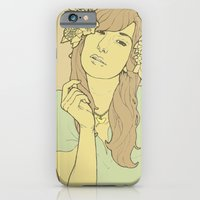 iPhone & iPod Case featuring Flowers by Clovis C.M.