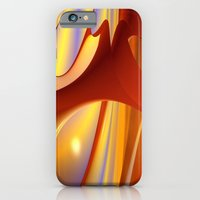 iPhone & iPod Case featuring Red Planet by ArtPrints