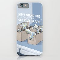 iPhone & iPod Case featuring Ice Cold Bears by Moats