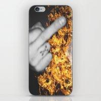 FUCK iPhone & iPod Skin