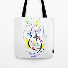 Cuerpo de mujer (estudio) Tote Bag