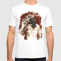 Start Talkin' Mens Fitted Tee White SMALL