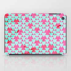 Watercolor Triangle Party iPad Case