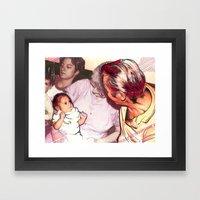 3 Generations Framed Art Print
