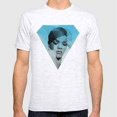 Rihanna Mens Fitted Tee Ash Grey SMALL