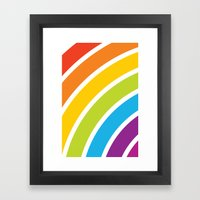 A Rainbow World Framed Art Print