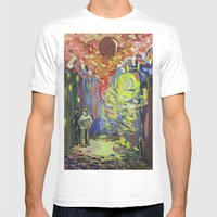 Loneliness Under The Str… Mens Fitted Tee White SMALL
