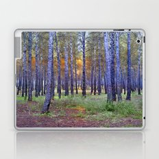 Mistery trees Laptop & iPad Skin