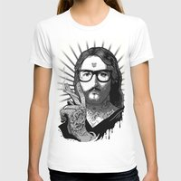 Jesus Bane #02 Womens Fitted Tee White SMALL