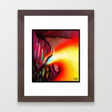 Fire fly Framed Art Print