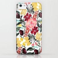 iPhone 5c Cases featuring Wild Garden II by Bouffants and Broken Hearts