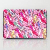 Crystal pattern iPad Case