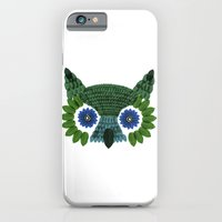 So Many Leaves = 1 Owl (Green) iPhone 6 Slim Case