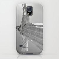 Galaxy S5 Cases featuring Cristo Rei Lisboa by Sébastien BOUVIER