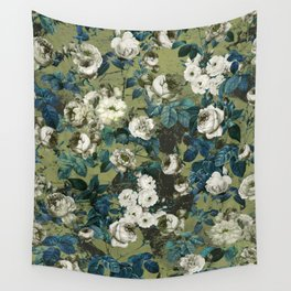 Wall Tapestry - Midnight Garden - Burcu Korkmazyurek