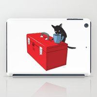 Chat Noir Beverage Tippe… iPad Case
