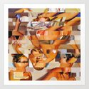 The Young and the Restless (Provenance Series) Art Print