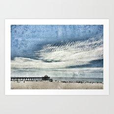 Manhattan Beach, California Art Print