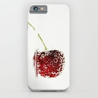 iPhone & iPod Case featuring Cheery Cherry by Isabelle Lafrance Photography