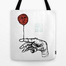 Life is Pretty Tote Bag