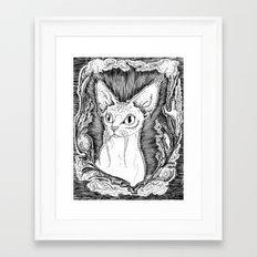 The Sphinx Framed Art Print