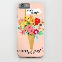 Seek magic every day iPhone 6 Slim Case