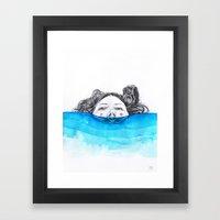 Immersion Framed Art Print
