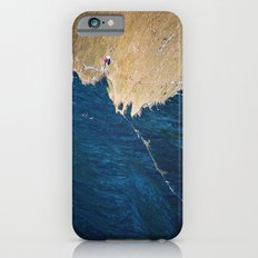 Yellow blue land iPhone 6 Slim Case