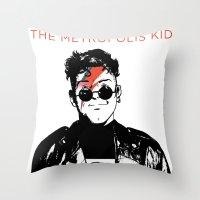 The Metropolis Kid Throw Pillow