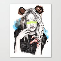 Griz Canvas Print