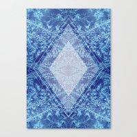 Crystal Kaleidoscope Canvas Print