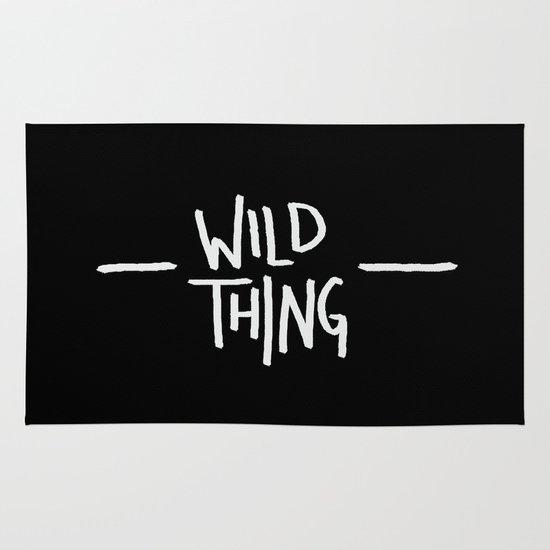 Wild Thing: Skagit Valley, Washington Area & Throw Rug