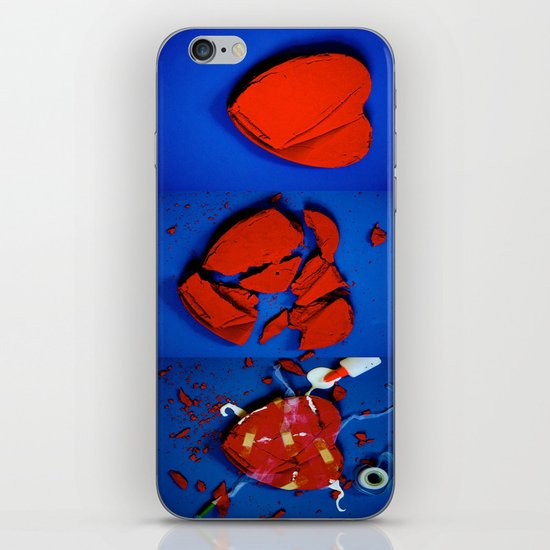 Anything Broken Can Be Fixed iPhone & iPod Skin