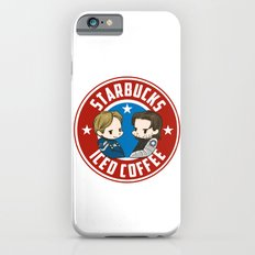 Starbucks - Steve Rogers and Bucky Barnes Iced Coffee  iPhone 6 Slim Case