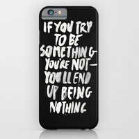 Being Nothing iPhone 6 Slim Case