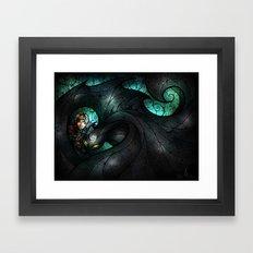 The Alpha Framed Art Print