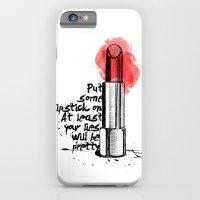 Lipstick iPhone 6 Slim Case