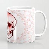 Pixel Skull Mug