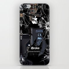 Broken, Rupture, Damaged… iPhone & iPod Skin