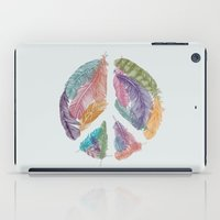 Feathers for Peace (Peace Sign) iPad Case