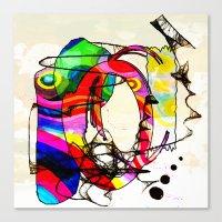 Coco Loco Canvas Print