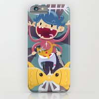 iPhone & iPod Case featuring Fish Kid by Miki  Company