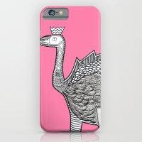 Dino Ostrich iPhone 6 Slim Case