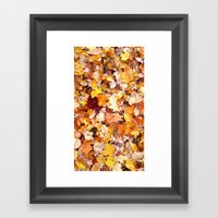 As time falls by Framed Art Print
