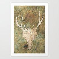 Brilliant Idear Art Print