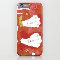 iPhone & iPod Case featuring girls by María José Noya