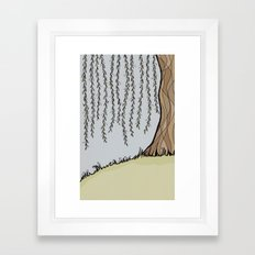 Willow Tree Framed Art Print